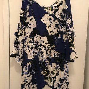 Parker Cold Shoulder Dress, Size Medium