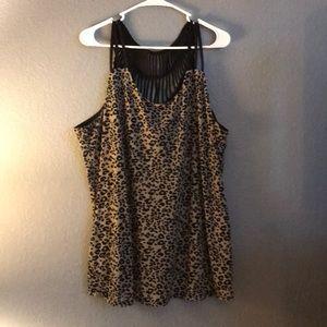 Cheetah print Maurice's top