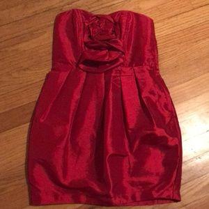 Arden B Red Cocktail Dress