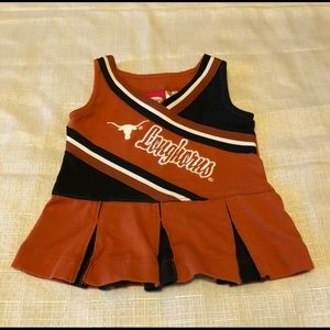 Other - Texas Longhorns Cheerleading Outfit 3 Mos