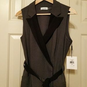 NWT Calvin Klein Professional Wrap Dress