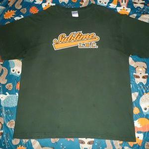 Large Green Sublime LBC Shirt!