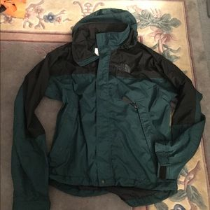 North face ski windbreaker jacket