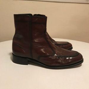 Men's Florsheim leather dress boots NICE! ♥️