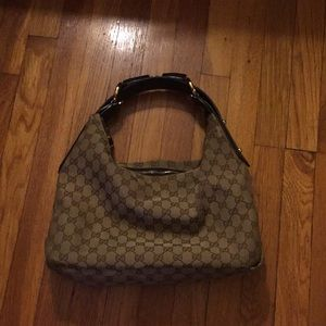 Gucci Horsebit Hobo Bag(Medium)