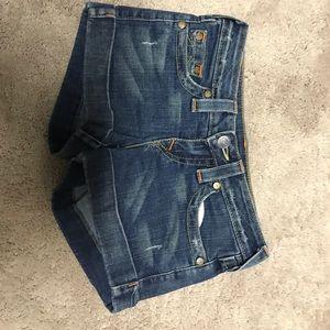 True Religion jean shorts Size 25