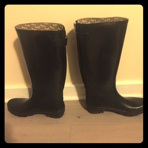 Banana Republic Tall Black Rain Boots
