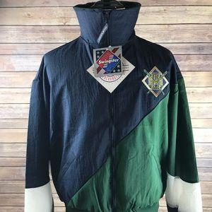 VINTAGE Swingster BREWERS Zipup Windbreaker Jacket