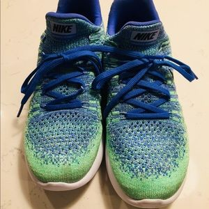 1504f3b8ff6f Nike Shoes - Nike lunar epic flyknit 2 size 7.5 green and blue