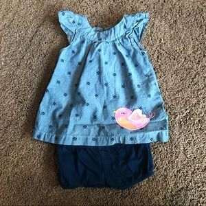 Other - Baby girl dress with matching diaper cover