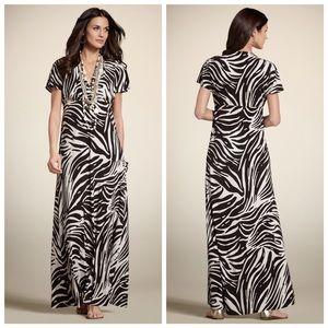 Chico's Animal Print Maxi Dress Mariah