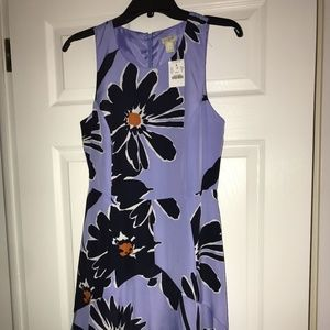 J.Crew Print Fit & Flare Drews - NWT