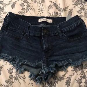 BRAND NEW! Abercrombie shorts Dark wash NW