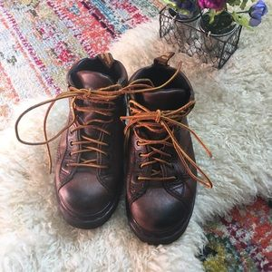 Doc martens leather ankle boots original 90s work