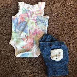 Other - Baby girl summer outfit