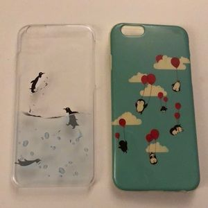 Set of 2 iPhone 6S cases