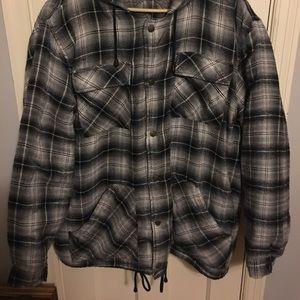 Windbreaker brand Flannel Coat XL