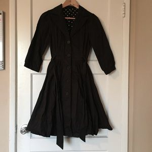 Forever 21, 3/4 sleeve trench coat (S)