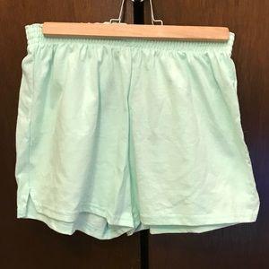 Mint Soffe cotton shorts