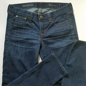 J.Crew Ankle Toothpick Jeans