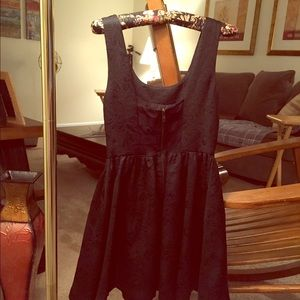 Princess Vera Wang black dress