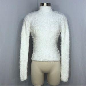 Forever 21 Eyelash, frizzy longsleeve sweater SZ S
