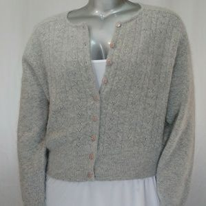 Jacqueline Ferrar Angora/Wool Sweater, XL