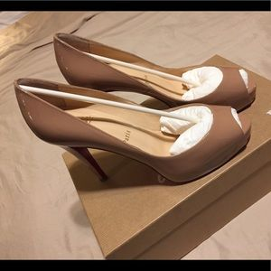 Christian Louboutin Very Prive 100mm size 37.5