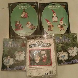 Vintage Christmas ornament kits