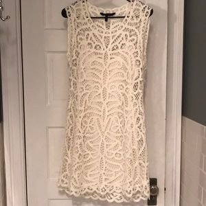 BCBG MAXAZRIA white dress in size Medium
