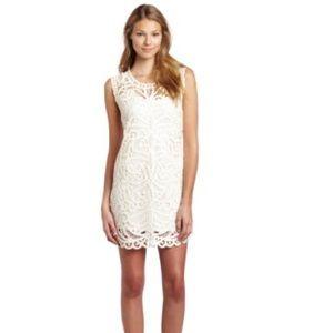 BCBG MAXAZRIA white dress in size Medium
