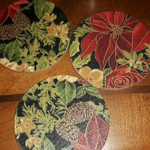 Set of there coek coasters