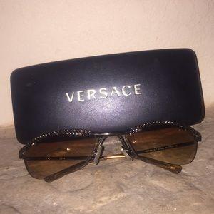 Authentic Versace vintage Medusa sunglasses