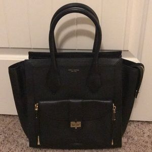 NEW Henri Bendel Rivington Tote Black