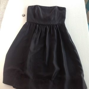 WHBM Strapless Cocktail LBD Size 8