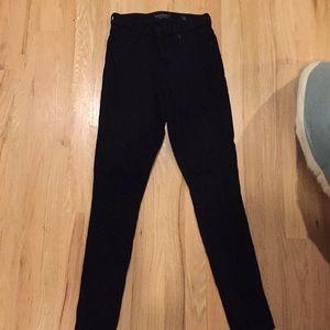 Black Lucky Brand skinny ankle jeans