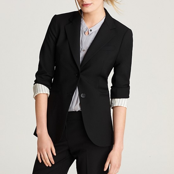 2cead9a072 Theory Jackets & Coats | Black Classic Rory Two Button Suit Blazer ...