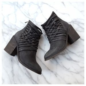 Free People Carrera Woven Boots