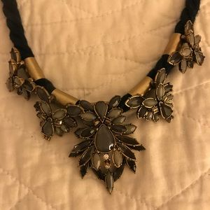 Long adjustable statement necklace from Loft
