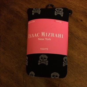 Isaac Mizrahi Skull and Crossbones ☠️Tights