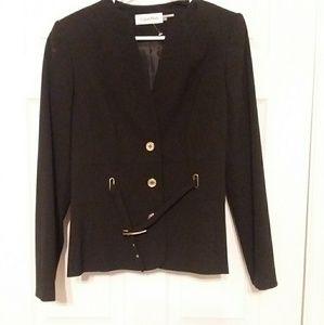 Calvin Klein Black Pant Suit