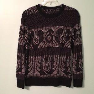 Fun pattern sweater