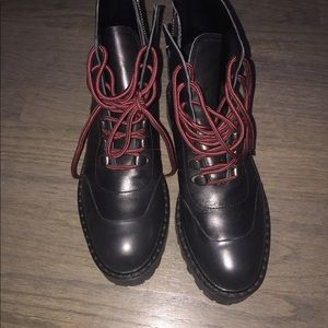 Zara Military Style Boots