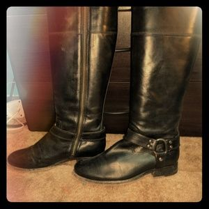 FRYE Philip Boot Size 7 Women's Extended Calf