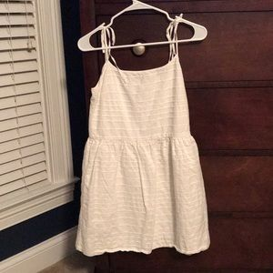 Gap tie strap dress