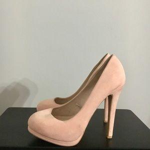 FOREVER 21 blush pink pumps
