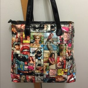 Magazine tote bag use once