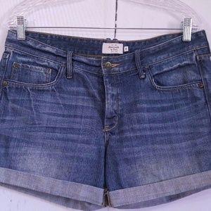 Abercrombie & Fitch  Women's Denim  Cuff Short 8