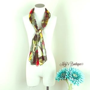 ⭐️Goregous 100% Silk Decorative Scarf⭐️