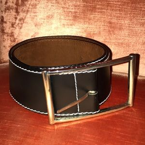Lambertson Truex brown leather belt size m